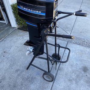 18hp Mercury Outboard Motor for Sale in Mount Hamilton, CA