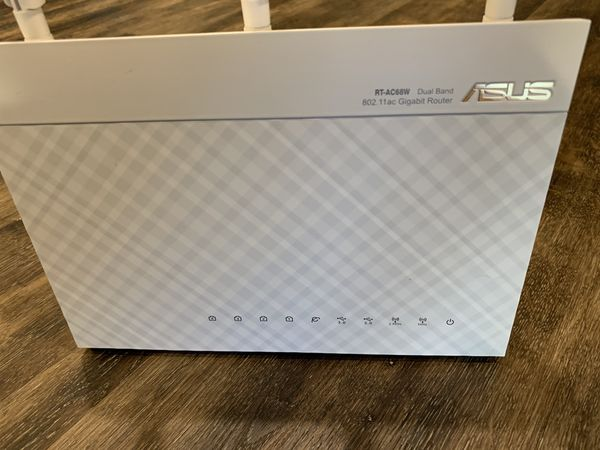 ASUS Wi-Fi 802.11ac Gigabit Router (RT-AC68W)