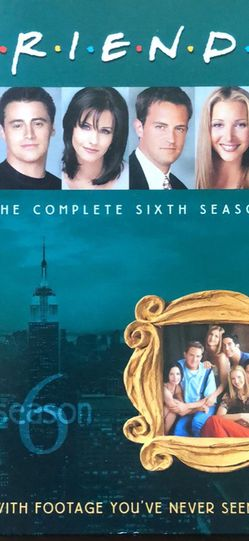 Friends Season 6 DVDs for Sale in Sacramento,  CA