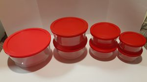 Pyrex 7 piece glass storage containers for Sale in Allen Park, MI