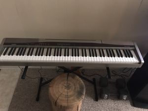 Casio px100 Privia 88 key weighted keyboard full kit! for Sale in KIMBERLIN HGT, TN