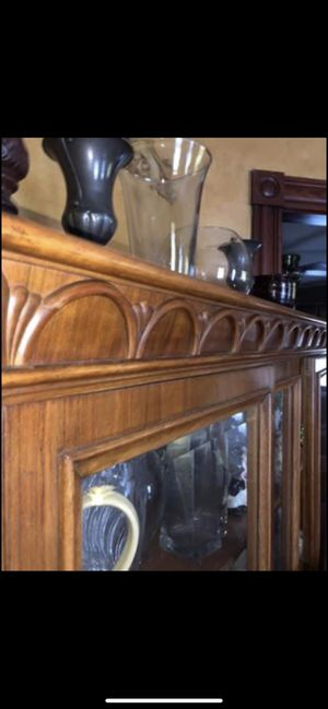 Glass antique cabinet $500 for Sale in Winthrop, MA