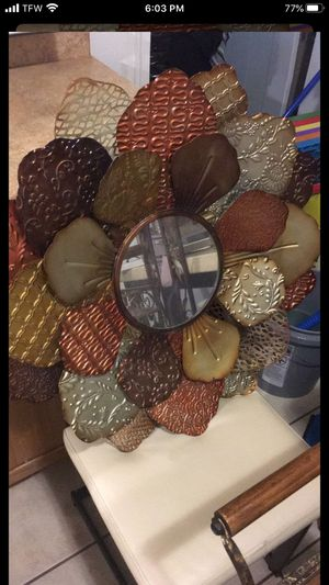 Metal mirror for Sale in Richmond, VA