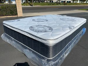 Diamond Collection Pillow Top Mattress and Boxspring! for Sale in Los Angeles, CA