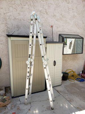 16' Werner Folding Ladder for Sale in Las Vegas, NV