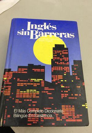a2f42212646 Ingles Sin Barreras Diccionario Bilingüe for Sale in West Covina