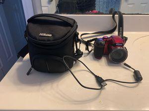 Nikon Red Coolpix B500 Digital Camera for Sale in DeSoto, TX