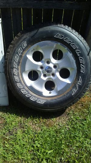 One Jeep 18 inch wheel & tire for Sale in Hazel Park, MI