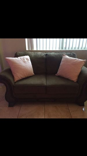 Sofa & Love Seat great condition - Free coffee table and 2 side tables with purchase for Sale in Phoenix, AZ