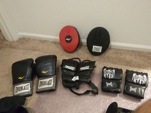 Boxing UFC and Muay Thai gloves and sparing padsfor sale for Sale in Monroe, WA