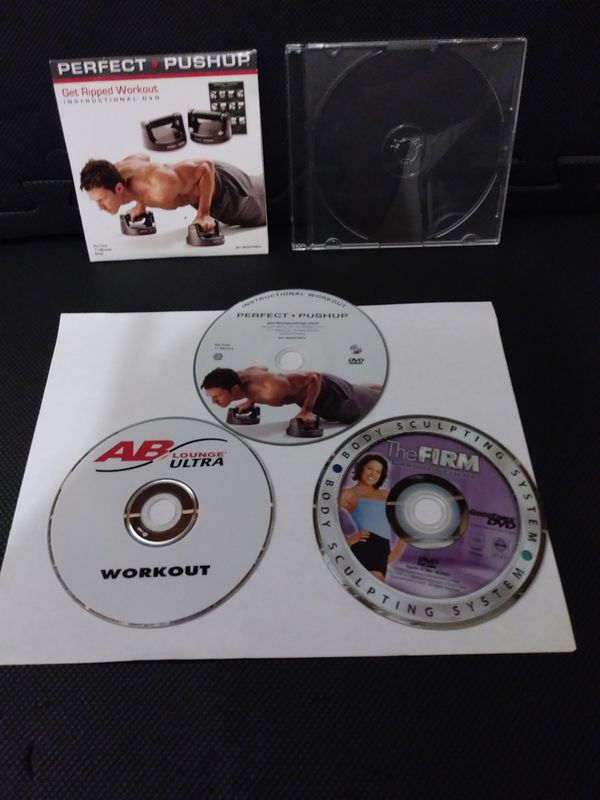 Workout DVDs Lot