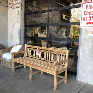 Last Available! New Solid Wood (teak) Bench! Great For Outdoors $299 -Sale Price for Sale in Vancouver, WA