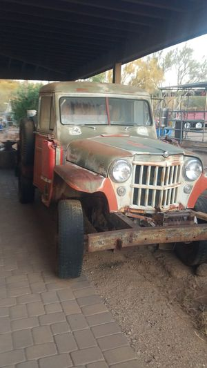 1954 Jeep 4x4 Willys pickup for Sale in Cave Creek, AZ