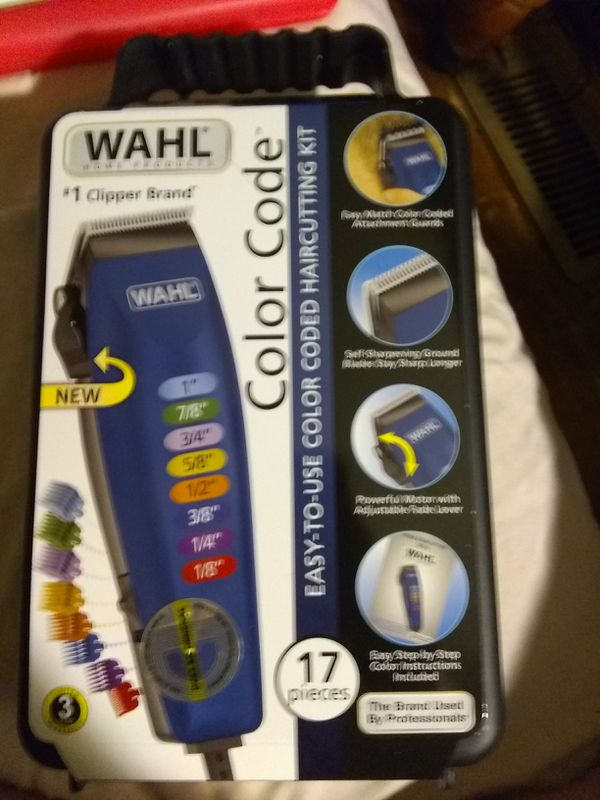 Wahl Color Code Haircutting Kit 17 pc