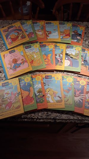 "Complete set of Grow and Learn Disney's ""Pooh"" volumes 1 thru 19 for Sale in Merrick, NY"