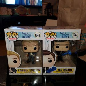 How I Met Your Mother - Funko Pop - Ted Mosby Barney Stinson for Sale in Ridgefield Park, NJ