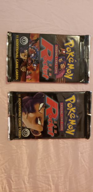 **$140 TODAY ONLY LOCAL**Pokemon Team Rocket 1st Edition Booster Packs (Unweighted) for Sale in San Antonio, TX