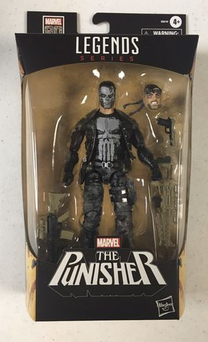 MISB Marvel Legends Punisher Frank Castle Action Figure Exclusive Superheroes Toys for Sale in Elmwood Park, IL