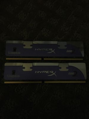 Hyper x DDR2 used for 2 day practically new for Sale in Oswego, IL
