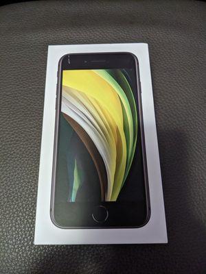 Apple iPhone SE 2020, Black, 64GB for Sale in Fontana, CA
