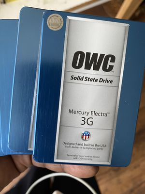 OWC Solid state drive 120 gigs all loaded with Catilina $50 for Sale in Atlanta, GA