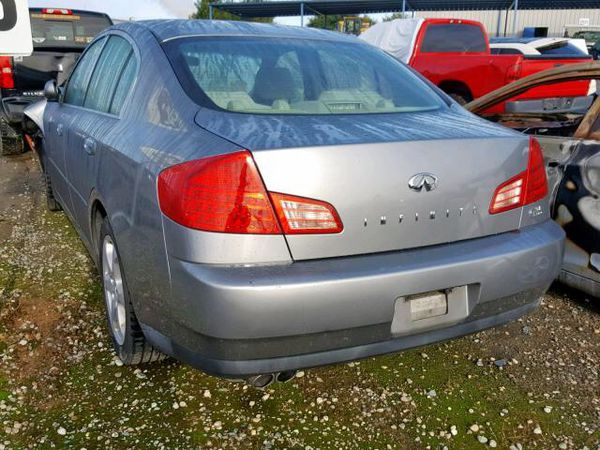 2004 Infiniti g35 parting out only