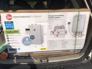Rheem tankless water heater (NEW) for Sale in Clinton, MD