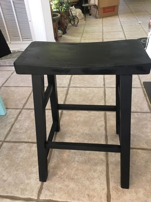 Black bar stool for Sale in Irving, TX