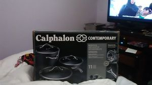 Calphalon Contemporary 11 piece set ( brand new, never opened) for Sale in Portland, OR