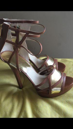 Women's Michael Kors Leather Heels (Size 9.5) for Sale in Nashville, TN