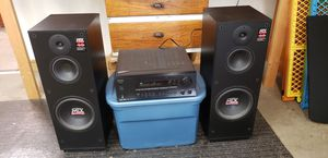 MTX Audio Monitor 10 Speaker, Onkyo TX-DS595 Receiver for Sale in Murfreesboro, TN