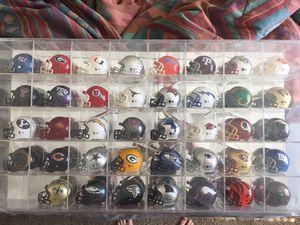 Mini Football Helmets NCAA/NFL for Sale in Wichita, KS