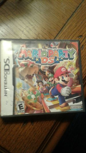 Nintendo ds CASE ONLY! MARIO PARTY for Sale in Worcester, MA