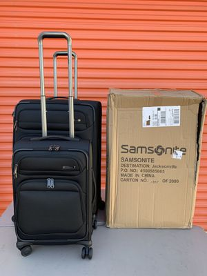 SAMSONITE EPSILON 2PC for Sale in Flower Mound, TX