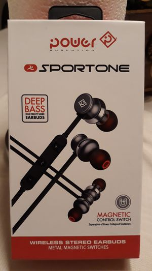SPORTONE WIRELESS STEREO EARBUDS for Sale in Port St. Lucie, FL