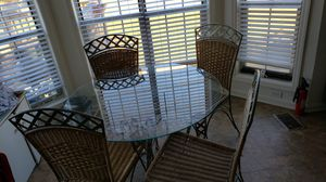 Ranttan/Wrought Iron Kitchen Set for Sale in College Park, GA