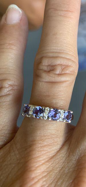 Tanzanite and Diamond ring size 6.5 for Sale in Delray Beach, FL