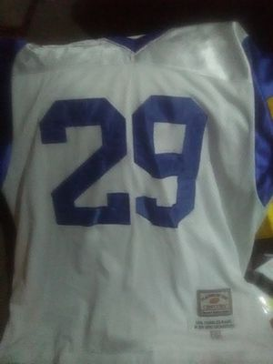 Size 54 sewn jersey. L.A. Rams great. for Sale in Eau Claire, WI