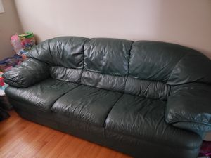 Soft Leather Sofa for Sale in Durham, NC
