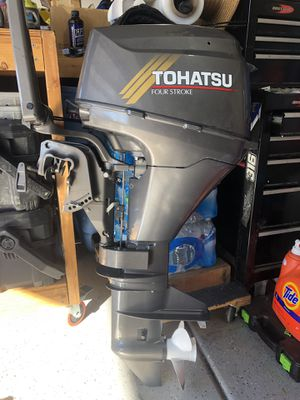 Tohatsu Nissan 9.8hp Outboard motor for Sale in Lake Elsinore, CA
