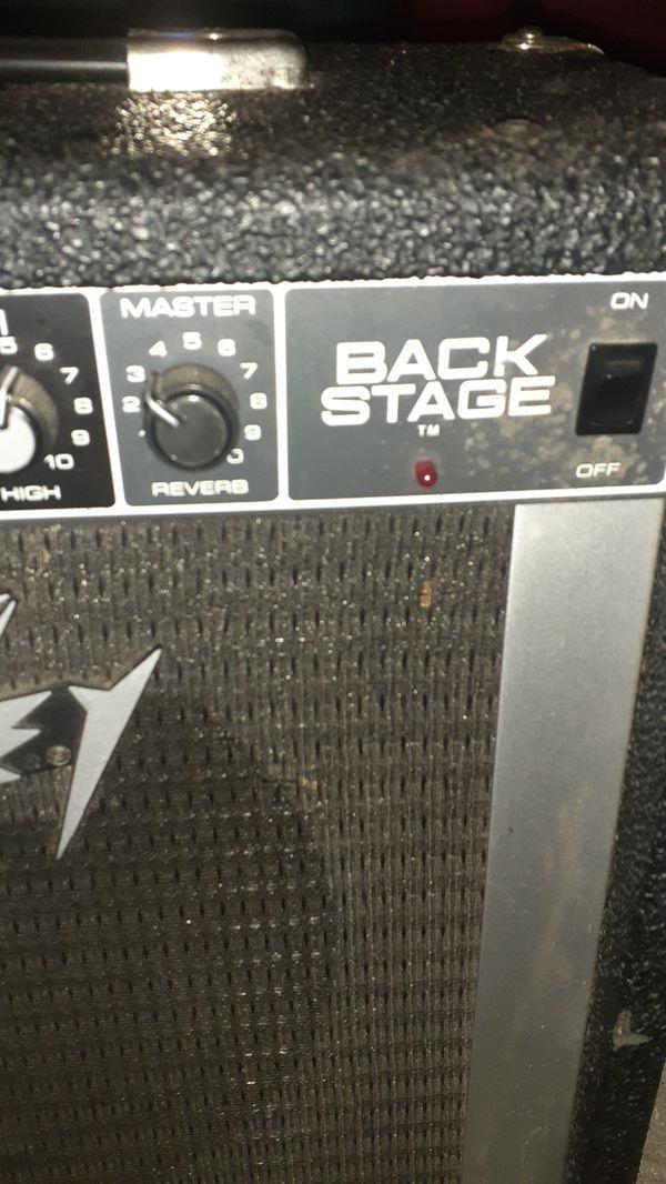 Peavy Backstage Amp