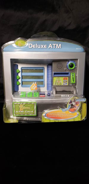 New Kids Zillionz Savings Deluxe ATM Bank for Sale in Buena Park, CA