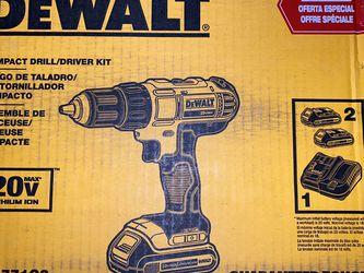Dewalt 20V Impact Drill/Driver Kit for Sale in Oak Lawn,  IL