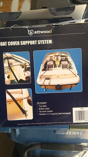 Attwood Boat Cover Support System for Sale in Charlotte, NC