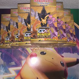 Pokemon Card Sun&Moon TAG TEAM GX Tag All Star BOX Japanese for Sale in Downey, CA