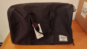 Herschel Supply Co. Novel Duffle Bag Black Crosshatch One Size New for Sale in Miami, FL