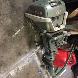 Outboard Motor 10 Hp for Sale in Montesano, WA