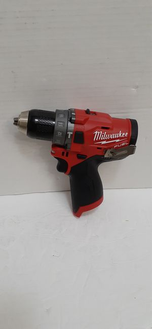 Milwaukee M12 fuel brushless 3rd generation Hammer drill brand new tool only nuevo for Sale in San Bernardino, CA