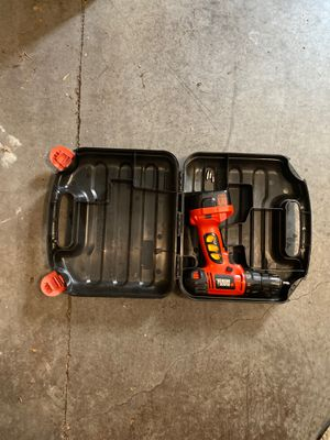 Black and Decker 12v drill for Sale in Franklin, TN