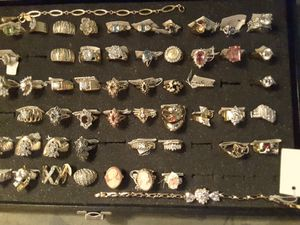 RINGS. BOX 2. Ladies 25$ each or 2 for 45$ full Warranty for Sale in Ladson, SC
